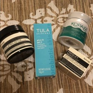 LOT of 4 New Aēsop, Tula, Kopari Face Products!